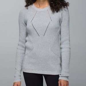 Lululemon The Sweater the Better in Heathered Gray